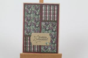 klassische Weihnachtskarte in aufwändiger Handarbeit hergestellt (Kopie id: 100285104) - Handarbeit kaufen