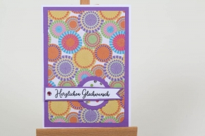 edle und romantische Geburtstagskarte Glückwunschkarte Grußkarte Geburtstag in Handarbeit hergestellt - Handarbeit kaufen