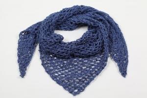 Dreieckstuch; gehäkeltes Schultertuch, Tuch, Stola luftig leicht, 100 % Baumwolle, perfekt für den Sommer - Handarbeit kaufen