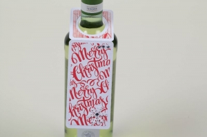 Flaschenanhänger Geschenkanhänger für Flaschen - Handarbeit kaufen