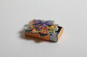 kleine Geschenkverpackung für Kostbarbkeiten oder Geld - Streichholzschachtel mit weihnachtlichem Motiv - Handarbeit kaufen