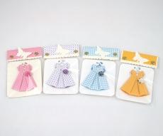 Vintage Papier Kleider