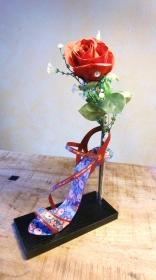 High Heel Blumenvase, wunderschöne Geschenkidee, Dekoration
