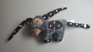 Esel Peter, Kuscheltier  mit Name  - Handarbeit kaufen