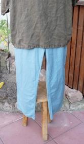 Mittelaltermarkt taugliche einfache Hose mit innenliegendem Gummizug