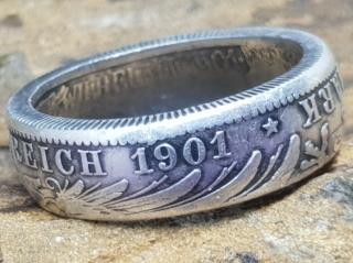 Ring aus 5 Mark Kaiserreich