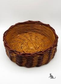 Korb Terracotta aus Zeitungspapier ♡ praktisch und dekorativ ♡ als Geschenk oder für Zuhause
