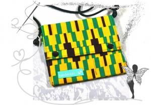 Kleine bunte praktische Umhängetasche, Festivaltasche - Handarbeit kaufen