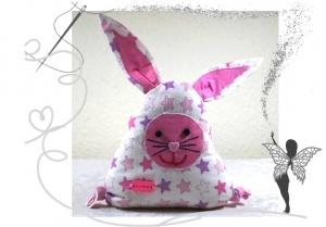 Lustiger,kleiner Hase mit Täschchen für Geldgeschenke,Gutscheine oder liebe Botschaften - Handarbeit kaufen