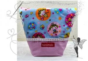 Vespertäschchen,Prinzessin,Lunchbeutel,Frühstückstasche für Kinder - Handarbeit kaufen