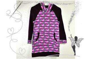 Tunika,Mädchenkleid Gr.92 mit lustigen Mäusen