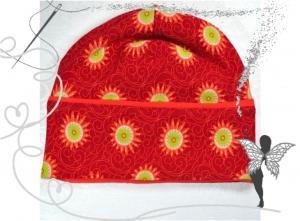 Farbenfrohe Mädchen-Mütze,Gr.50-52,3-5Jahre,handgemacht - Handarbeit kaufen
