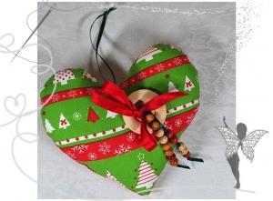 Schönes dekoratives Herz mit Täschchen für Geldgeschenke,Gutscheine,Adventsdeko  - Handarbeit kaufen