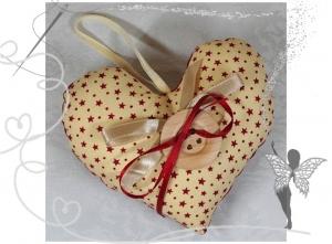 Schönes  Herz mit Tasche für Geldgeschenke und liebe Botschaften  - Handarbeit kaufen