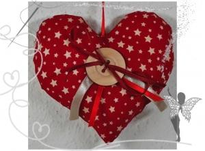Schönes  Herz mit Tasche für Geldgeschenke und liebe Botschaften