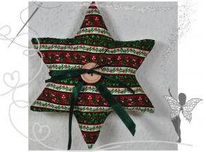 Schöner Stern mit Tasche für Geldgeschenke und liebe Botschaften