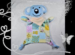 Süßes Kuscheltuch,Schmusetuch- Koalabär,Geschenk zur Geburt - Handarbeit kaufen