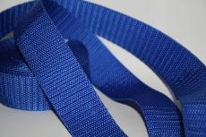 Farbiges Gurtband - Königsblau - 1m  30mm breit