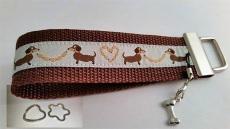 Schlüsselanhänger- Dackel - Hund - goldig