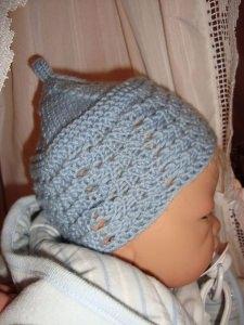 Schühchen und Mütze f. Frühchen/Reborn-Baby/Puppe