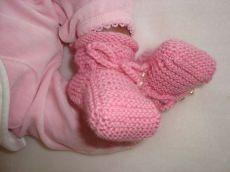 Babyschühchen Kleine Perle