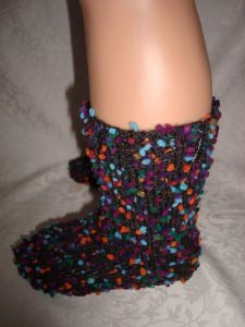 Pompon-Socken, Gr.30/31
