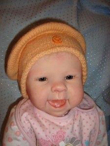 Baby-Ballonmütze Kleine Mandarine
