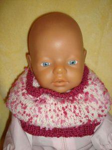 Für Puppen - Loop - Schalkragen - Schal - Mütze