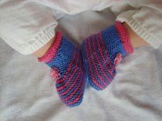 Süße Mini-Boots - Babyschuhe