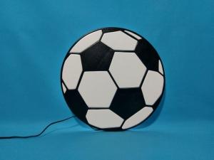 ♥ Nachtlicht - Schlummerlampe - Wandlampe - Fußball ♥
