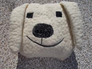 knuddelspielkissen aus einem Schafwolle/Mischgewebe