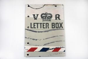 Handgemachtes Gästebuch im IN A4 Hochformat mit dem Titel Letterbox