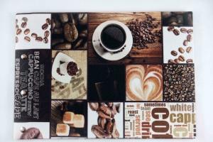 Handgemachtes Gästebuch DIN A4 Querfomat Kaffee als Motiv