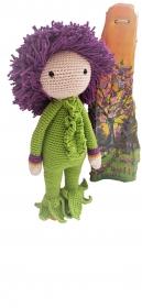 Puppenstube: Lauch-Nikita purple handgefertigtes Unikat