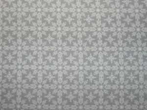 Weihnachtsstoff Eiskristalle weiß-grau (Kopie id: 100258848) - Handarbeit kaufen