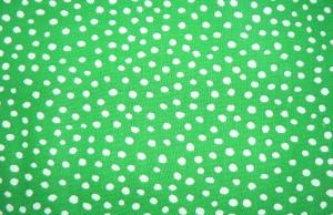 Crazy Dots in der Weihnachtsfarbe hellgrün - Handarbeit kaufen