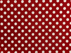 Punkte rot - weiß - Handarbeit kaufen