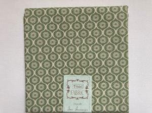Tilda Fat Quarter grün  mit Blümchen - Handarbeit kaufen