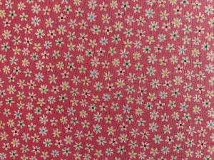 Patchworkstoff Streublumen rosa - Handarbeit kaufen