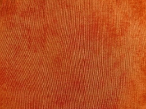 Baumwollstoff orange uni  - Handarbeit kaufen