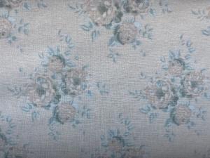 Tilda Stoff Rosen auf creme-weißem  Grund  - Handarbeit kaufen
