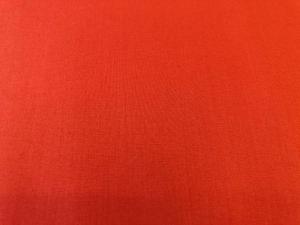 Baumwollstoff rot-orange, koralle,  uni  - Handarbeit kaufen
