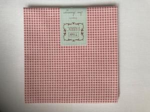 Tilda Fat Quarter kleine Karos (Mini Gingham) weiß und rot