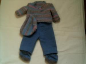 Hose & Pullover  44-47 cm