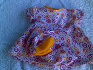 Kleid in 44-47 cm