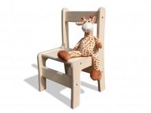 Kinderstuhl - Handgefertigt - Naturbelassen - sehr stabil