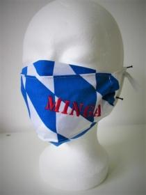 Mund - und Nasenmaske - wiederverwendbar - waschbar - Alltagsmaske - Bayern - Minga - zero waste - nachhaltig - zur Tracht - München - Handarbeit kaufen