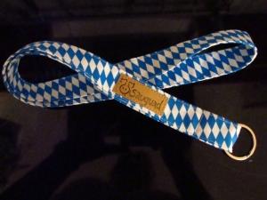 Schlüsselband lang - bayrisch - sauguad - Schlüsselanhänger  - Handarbeit kaufen