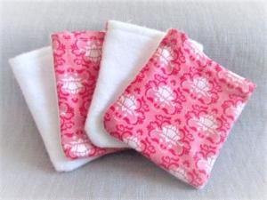 nachhaltige Kosmetikpads  Miniwaschlappen  wiederverwendbare Abschminkpads  zero waste  Make Up Entferner - Tildastoff - Handarbeit kaufen