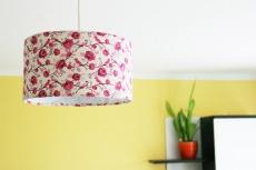 ♥ Deckenlampe Rosenrot